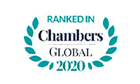 Ranked in Chambers Global 2020